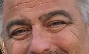 man with smiling eyes