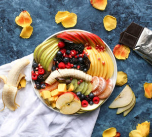 plate of fruit with health benefits