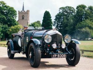 Classic Car for World Walk to Wellness Blog on Safe Trip