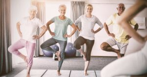 Prevent Falls - Senior Balance exercises by https://eldergym.com/elderly-balance/